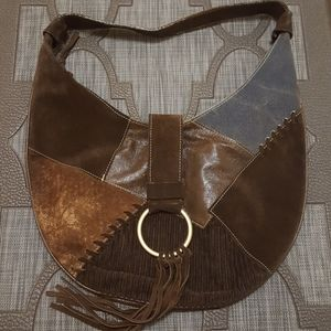 Handbags - Brown Bohemian Handbag